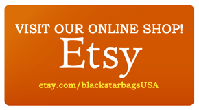 Black Star Bags on Etsy!